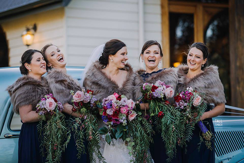 Bridal Party at AnnaBella the Wedding Chapel