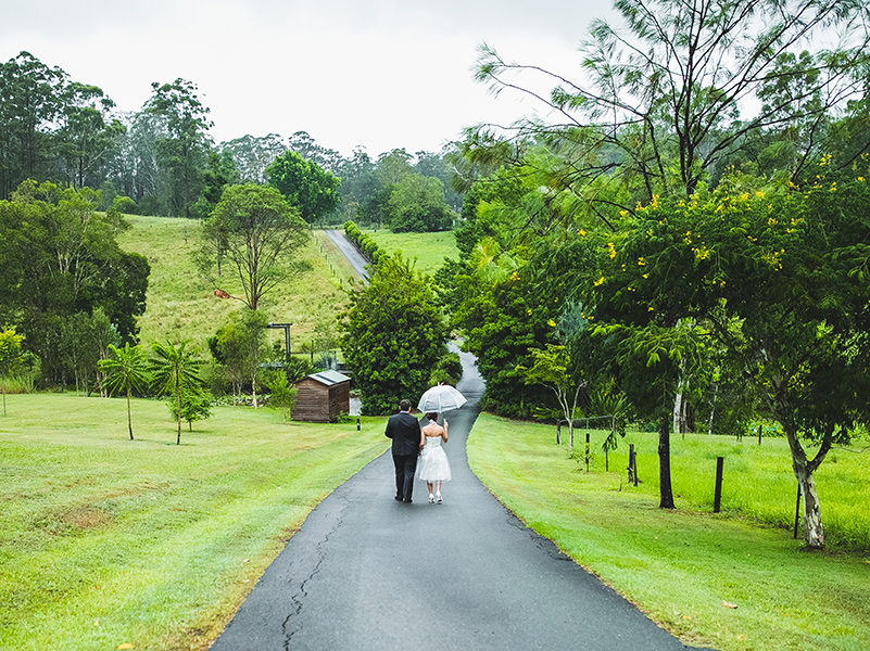 Sunshine Coast Hinterland Wedding Ceremony Location