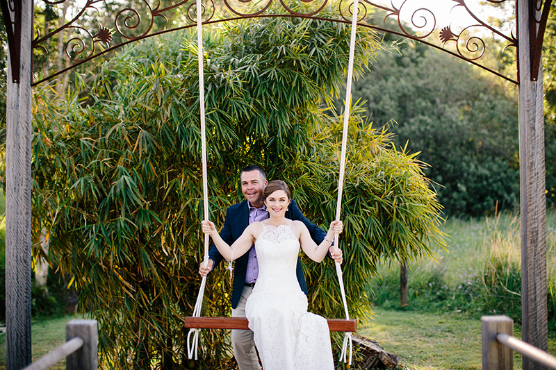 Wedding Swing at AnnaBella Chapel