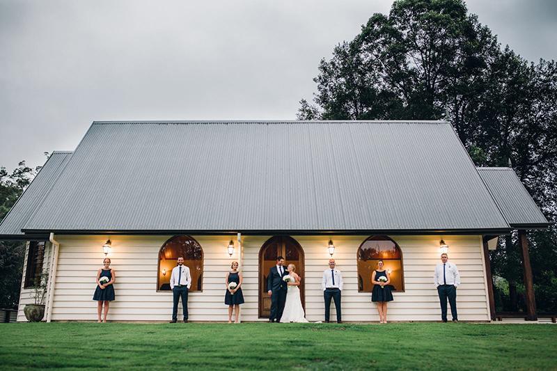 AnnaBella Wedding Chapel Exterior