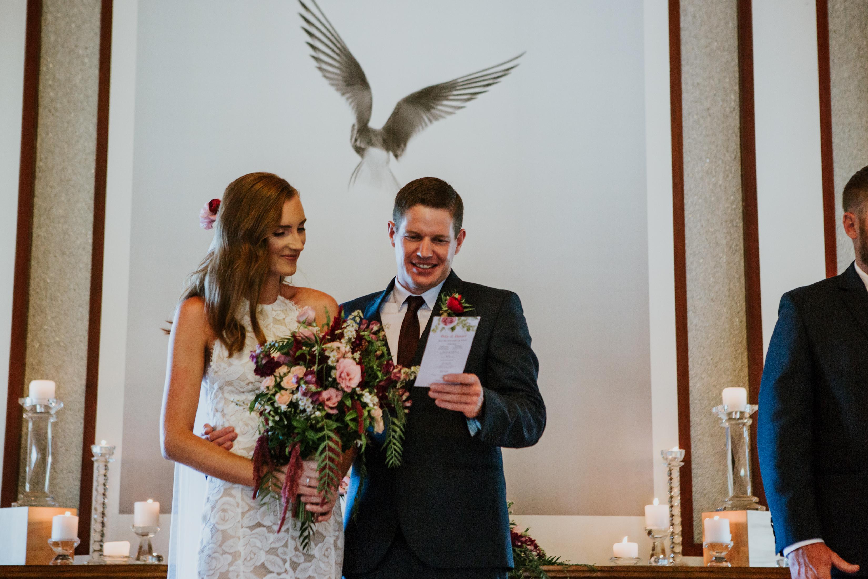 Ceremony inside AnnaBella the Wedding Chapel